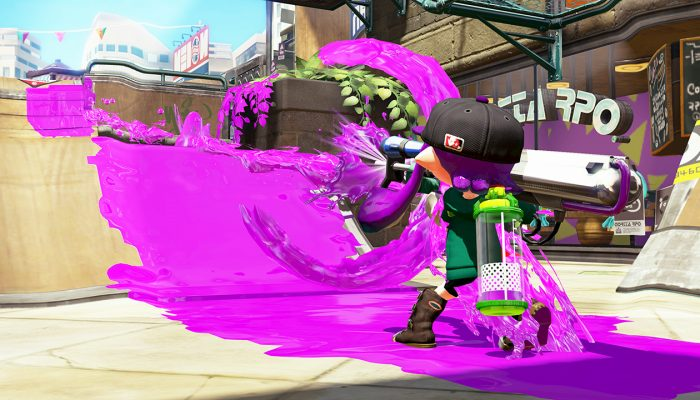 New weapons Neo Splash-o-matic and E-liter 3K Scope now available in Splatoon
