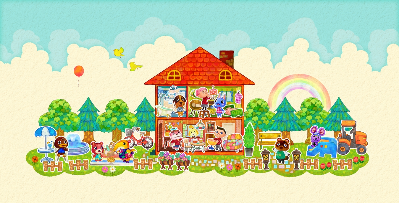Media Create Top 50 Animal Crossing Happy Home Designer