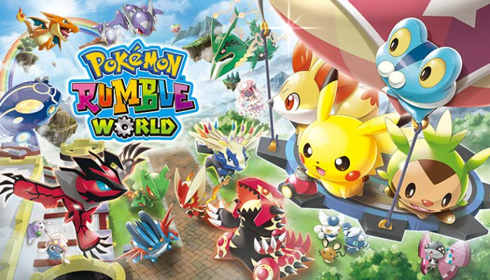 NoA: 'Update your Pokémon Rumble World game!'