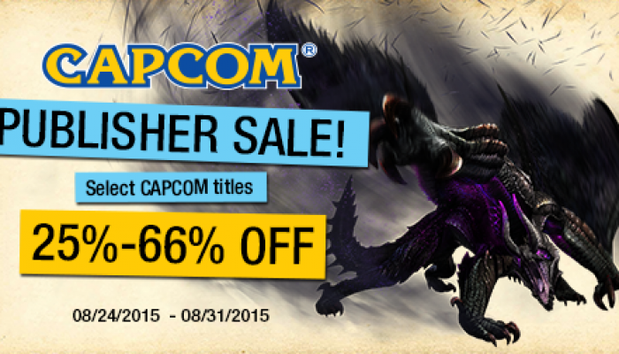 Capcom: 'Capcom Publisher Sale offers deals on 3DS, Wii U'