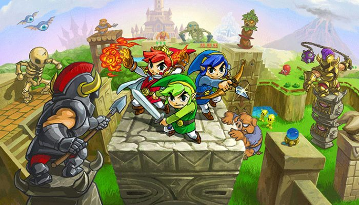 NoA: 'The Legend of Zelda: Tri Force Heroes is coming Oct. 23'
