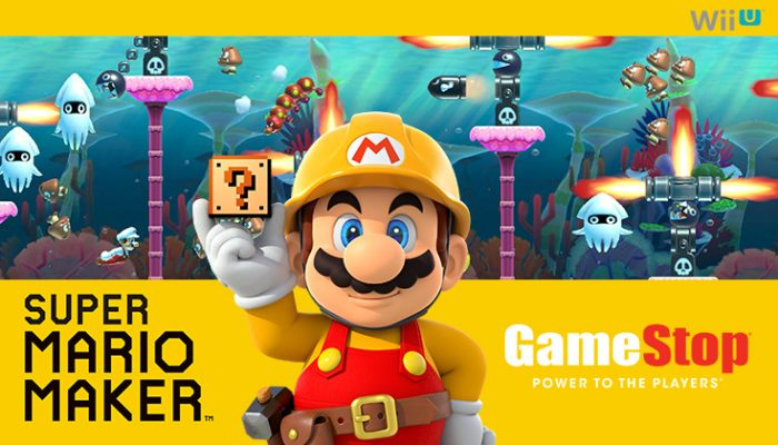 NoA: 'GameStop Super Mario Maker demo event on 8/29'