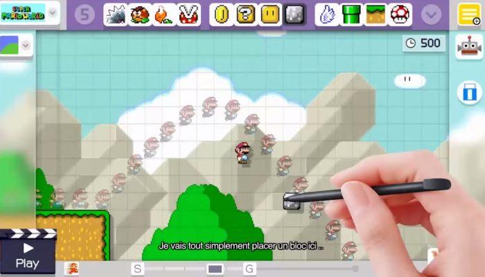 Super Mario Maker – De nouveaux conseils de l'E3 !