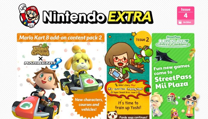 NoE: 'Discover great new content on Nintendo Kids Club and Nintendo Extra'