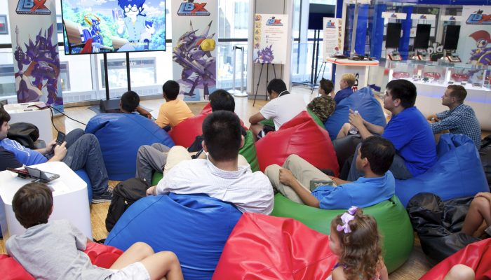 Pictures from Nintendo, Nicktoons and Nintendo World Store's Little Battlers eXperience Event