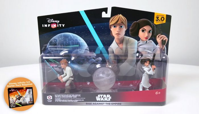 Disney Infinity 3.0 – Rise Against the Empire Play Set Unboxing