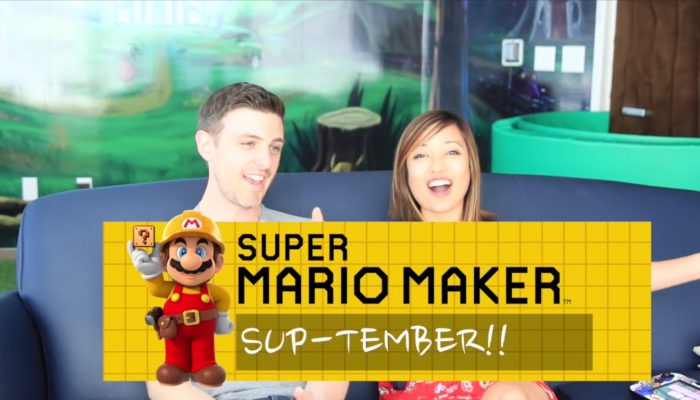 Nintendo Minute – Get Ready for Super Mario Maker