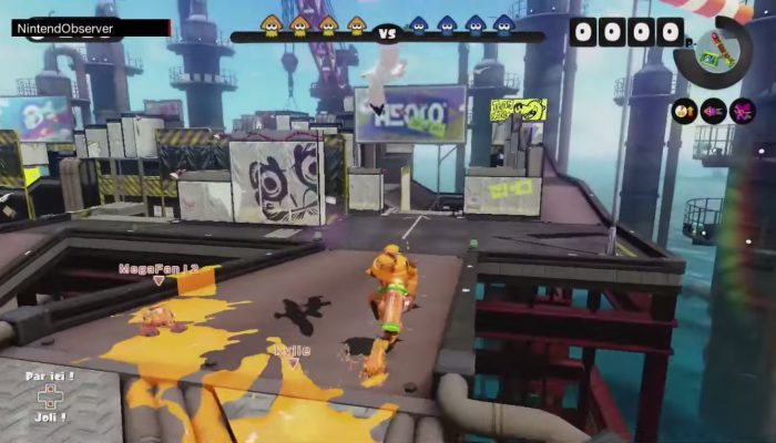 Splatoon, Tankiness. (60 FPS)