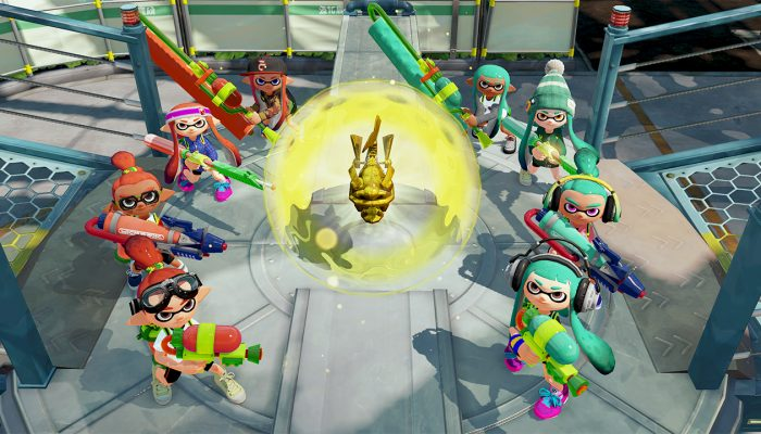 Rainmaker mode coming to Splatoon on August 14, 7 PM Pacific