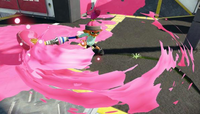 New weapons Inkbrush Nouveau and Range Blaster now available in Splatoon