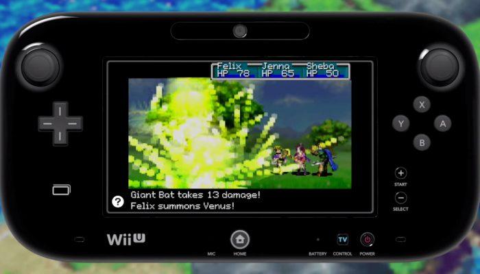 Golden Sun: The Lost Age – Wii U Virtual Console Trailer