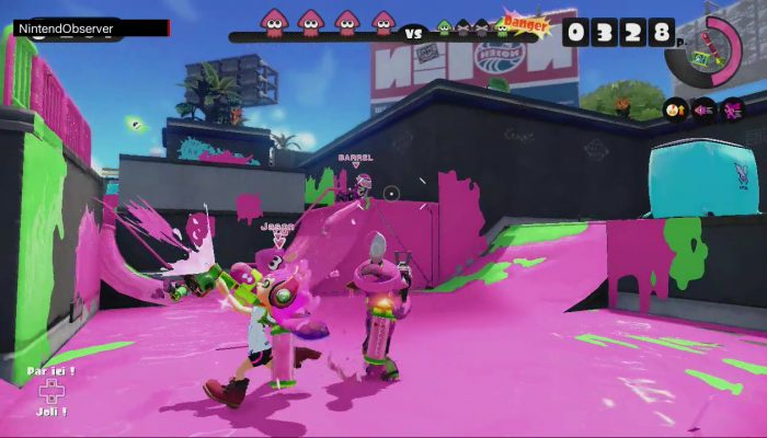 Splatoon, Raving on the new song. (60 FPS)