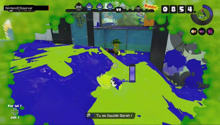 Splatoon, Cruising on the new Urchin Underpass. (60 FPS)