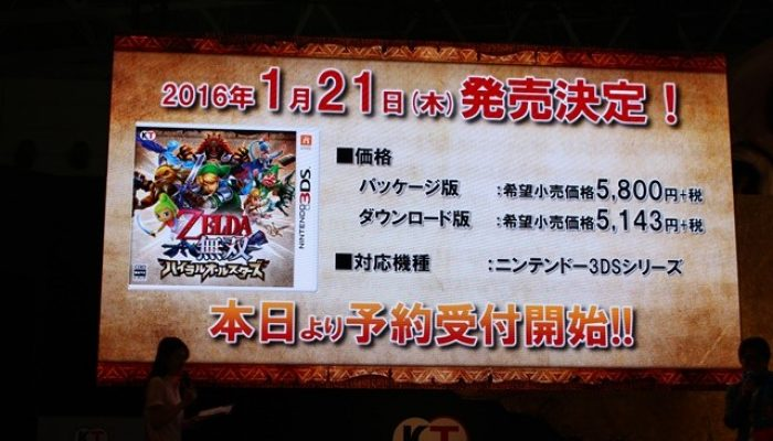 Hyrule Warriors Legends – Pictures from Koei Tecmo's TGS Event
