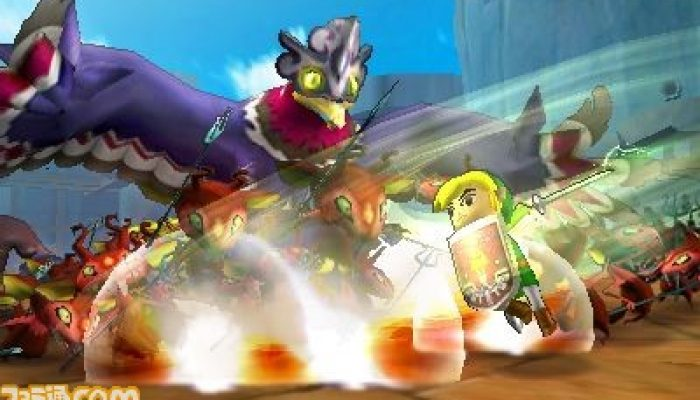 Hyrule Warriors Legends – Toon Link Reveal Screenshots from Famitsu