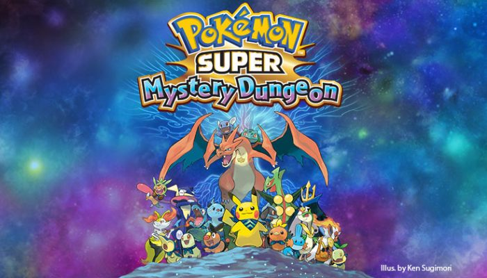 NoA: 'The Pokémon Super Mystery Dungeon site launched today!'
