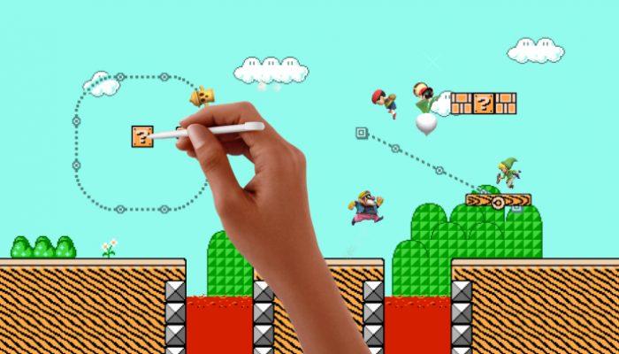 Super Smash Bros. for Wii U & Nintendo 3DS – Screenshots of the Super Mario Maker Stage