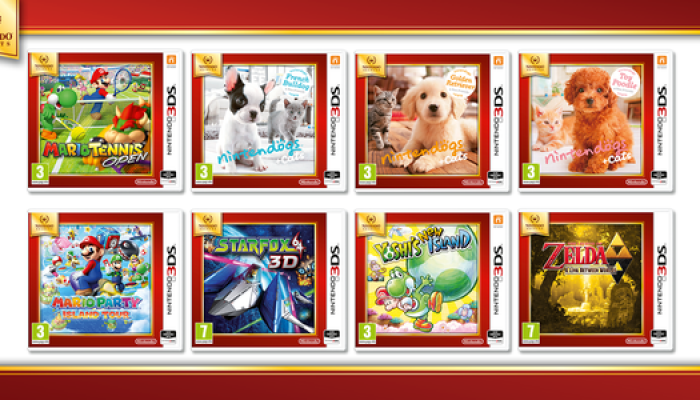 NoE: 'Selection of Nintendo 3DS games to join Nintendo Selects value range on October 16th'
