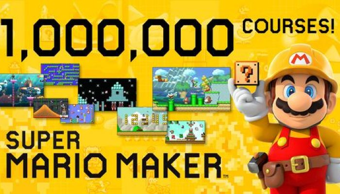 Celebrating more than a million courses created in a week in Super Mario Maker