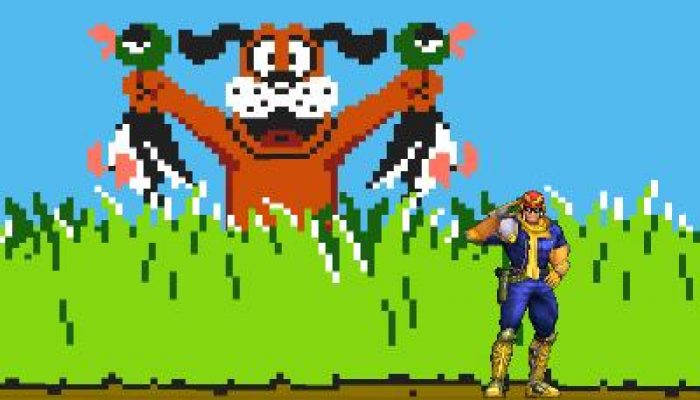 Duck Hunt stage available for free on Super Smash Bros. for Nintendo 3DS
