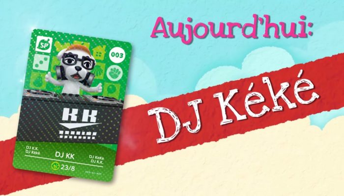 Animal Crossing : Happy Home Designer – Rencontrez DJ Kéké