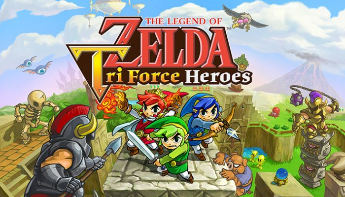 NoA: 'Solve puzzles and survive dungeons alongside friends in The Legend of Zelda: Tri Force Heroes'