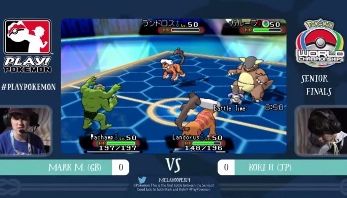 2015 Pokémon World Championships – VG Senior Finals
