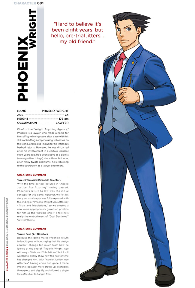 Phoenix Wright Ace Attorney Dual Destinies