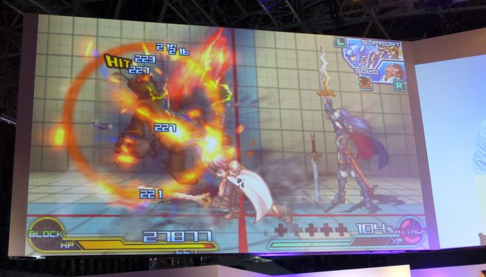 Project X Zone 2 – Pictures from Bandai Namco's TGS Event