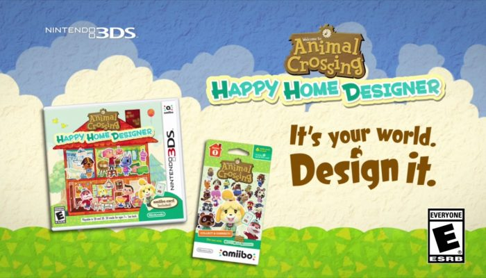 Animal Crossing: Happy Home Designer – North American Commercials