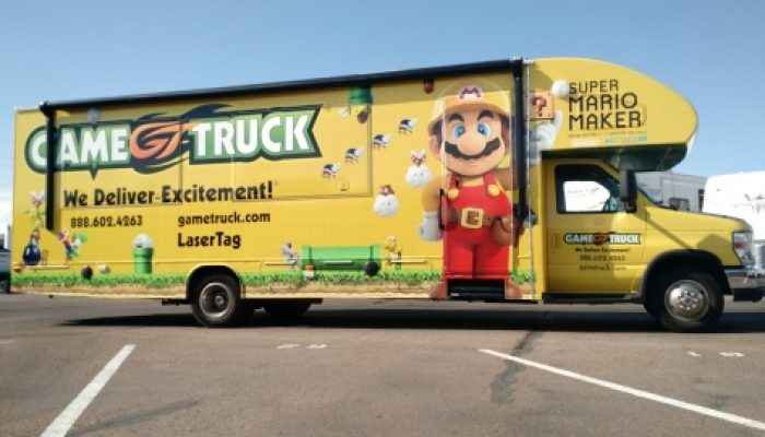 NoA: 'Super Mario Maker Takes Nintendo's Partnership with GameTruck to the Next Level'