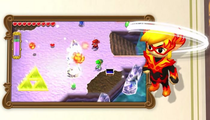 The Legend of Zelda : Tri Force Heroes – Bande-annonce de lancement