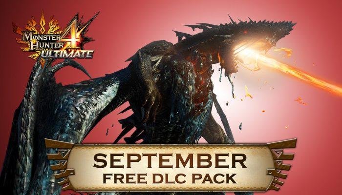 Capcom: 'Monster Hunter 4 Ultimate Free DLC line-up for September'