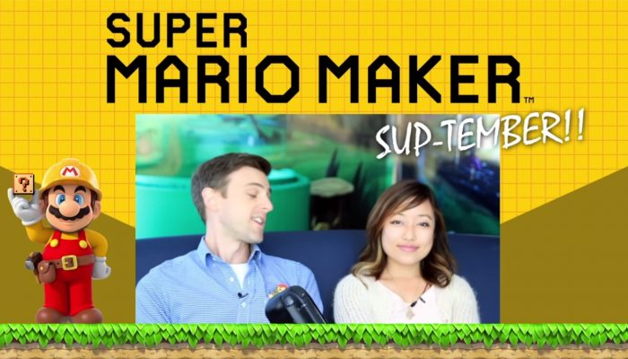 Nintendo Minute – Super Mario Maker SUP-tember: Our Levels