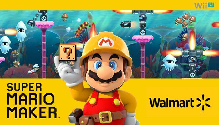 NoA: 'Walmart Super Mario Maker demo event on 9/12'
