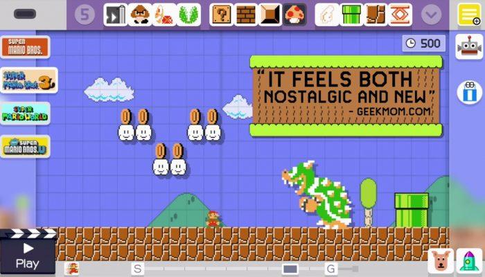 Super Mario Maker – Accolades Trailer