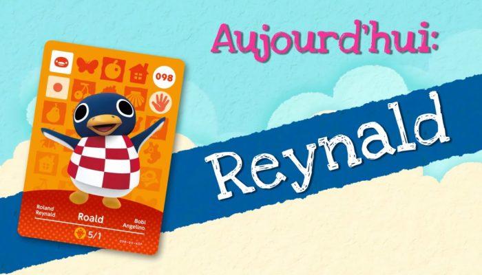 Animal Crossing : Happy Home Designer – Rencontrez Reynald