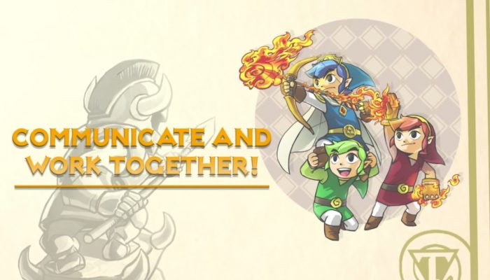 NoE: 'Solve puzzles and survive levels alongside friends in The Legend of Zelda: Tri Force Heroes for Nintendo 3DS'