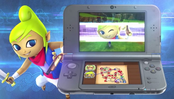 Hyrule Warriors Legends – Bande-annonce de la campagne Wind Waker