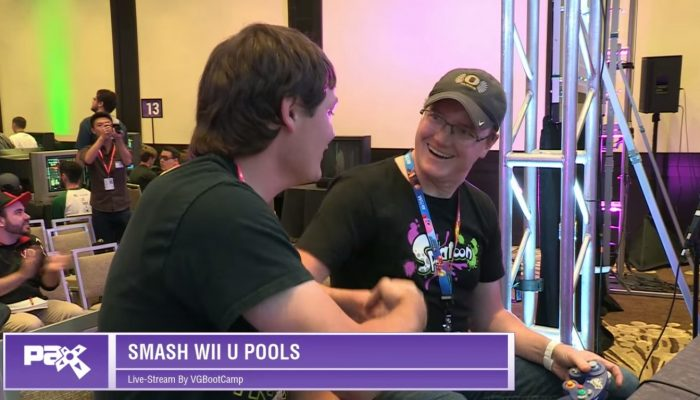 Bill Trinen at Smash at PAX