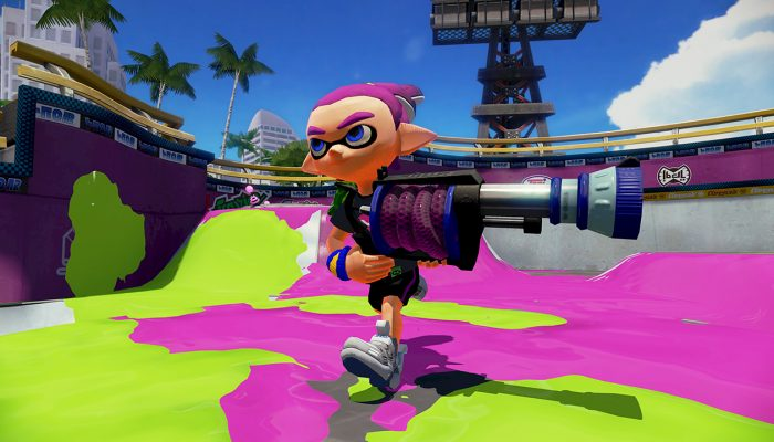 New weapon H-3 Nozzlenose soon available in Splatoon