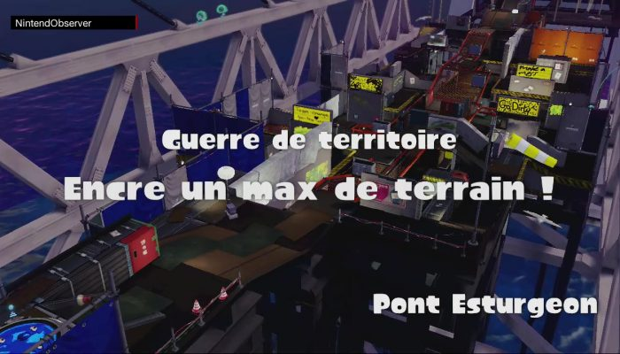 Splatoon, From the bottom on Hammerhead Bridge.