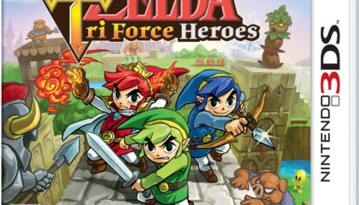 NoA: 'Form a Legendary Team of Heroes in The Legend of Zelda: Tri Force Heroes'