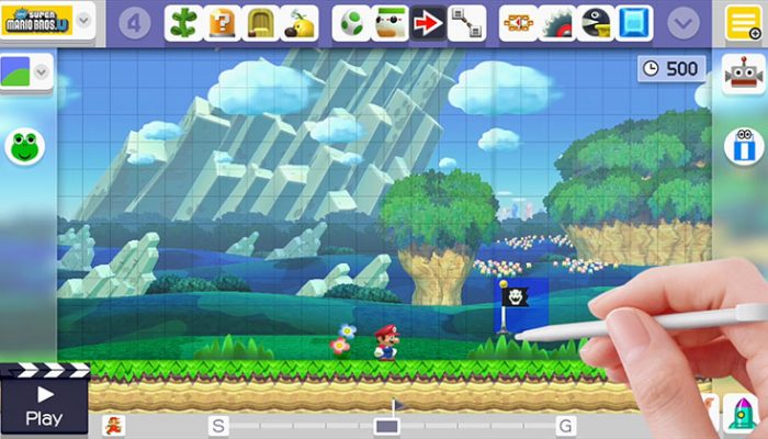 NoA: 'New software update brings mid-level checkpoints and new courses to Super Mario Maker'