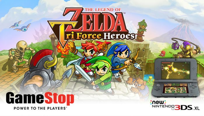 NoA: 'Play The Legend of Zelda: Tri Force Heroes on 10/17'