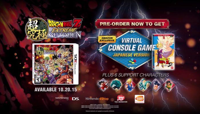 Dragon Ball Z: Extreme Butoden – Super Butoden 2 Amazon Pre-Order Bonus