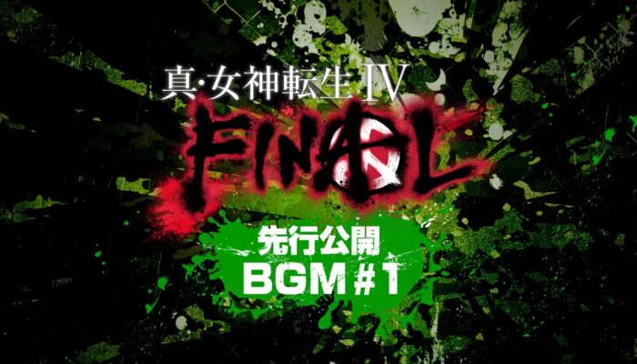 Shin Megami Tensei IV: Final – Background Music Samples