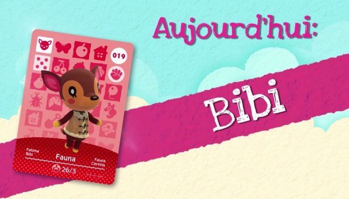 Animal Crossing : Happy Home Designer – Rencontrez Bibi