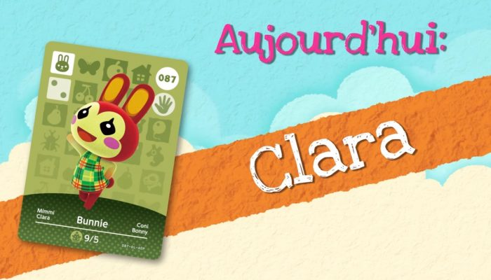 Animal Crossing : Happy Home Designer – Rencontrez Clara