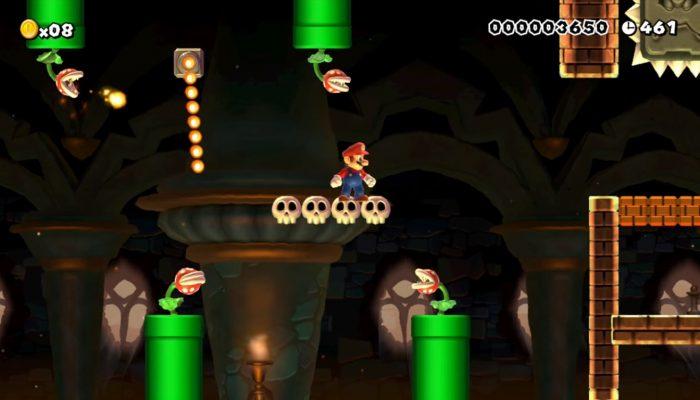Super Mario Maker – Créations de l'ICAN pour la Super Mario Maker Academy
